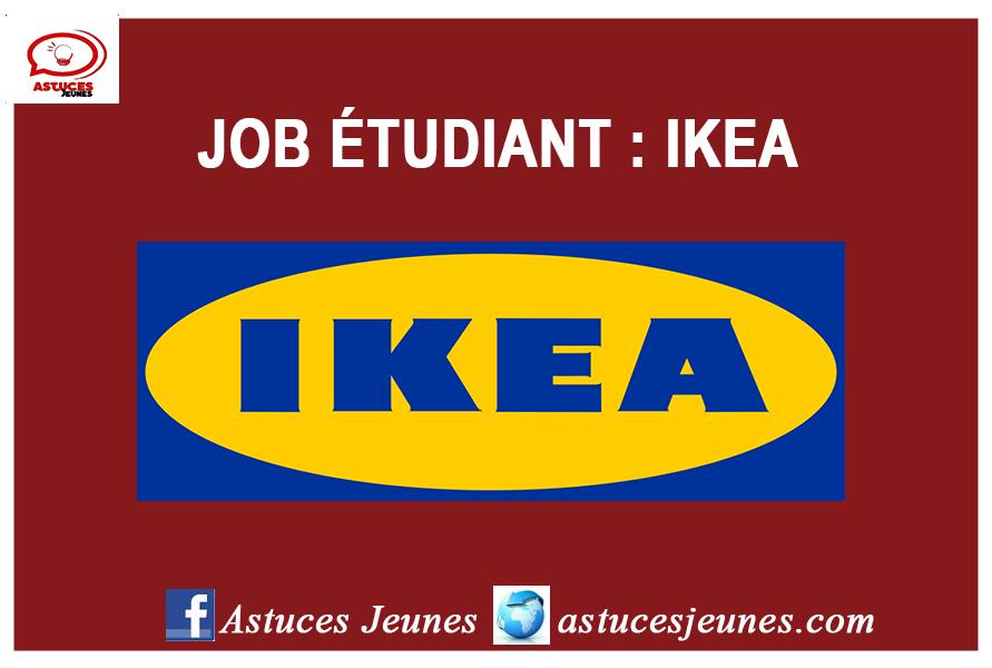 job  u00e9tudiant ikea  u2013 astuces jeunes